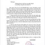 CÔNG VĂN SỐ 1998/SGDĐT-GDTrH VỀ VIỆC HOÃN KỲ THI TỐT NGHIỆP TRUNG HỌC PHỔ THÔNG NĂM 2020
